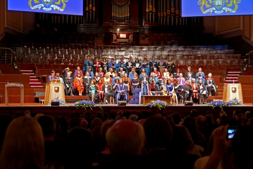 Graduation in Usher Hall