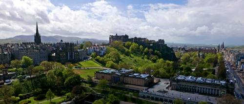 Four days in Edinburgh